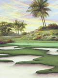 8 Bunkers At Emerald Dunes Print on Canvas by Joe Sambataro