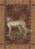 Lone Cheetah Print on Canvas by Kathleen Denis
