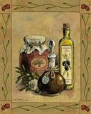 Olive Oil I Print on Canvas by Betty Whiteaker