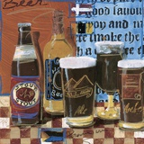 Beer & Ale I Print on Canvas by  Fischer & Warnica