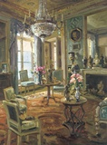 The Drawing Room Print on Canvas by  Foxwell
