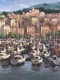 Bayside Harbor I Print on Canvas by  Furtesen