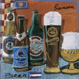 Beer & Ale II Print on Canvas by  Fischer & Warnica