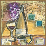 Wine And Cheese II Print on Canvas by Tanya M. Fischer