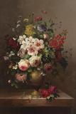 Bouquet classique II Impression sur toile par  Steiner
