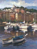 Bayside Harbor II Print on Canvas by  Furtesen