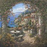 Seaview Hideaway ll Print on Canvas by Yuri Lee