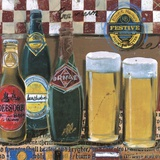 Beer & Ale III Print on Canvas by  Fischer & Warnica