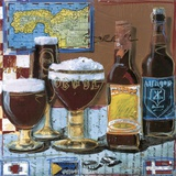 Beer & Ale IV Print on Canvas by  Fischer & Warnica