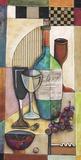 Zinfandel Impression sur toile par Jennifer Bonaventura