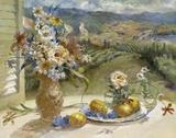 Citrons de Toscane Impression sur toile par Ruth Baderian