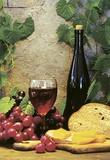 Wine Club ll Print on Canvas by Fred Wood