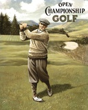 Open Championship Golf II Print on Canvas by Kevin Walsh