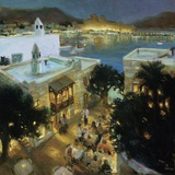 Bodrum Print on Canvas by  Berc