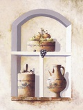 Alcove Heirlooms l Print on Canvas by  Coral