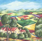 Spring In Provence Print on Canvas by Sarah Hagy Volker
