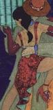 Tango Night II Print on Canvas by Penny Feder
