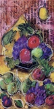 Fruta Festiva ll Print on Canvas by Tanya M. Fischer