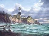 Montauk Point Print on Canvas by Rudi Reichardt