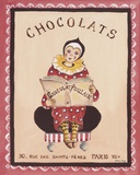Chocolats Print on Canvas by Katharine Gracey