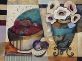 Floral Delight Print on Canvas by Jennifer Bonaventura