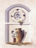 Alcove Heirlooms ll Print on Canvas by  Coral