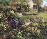 The Secret Garden Print on Canvas by  Gabriela
