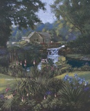 Victoria's Garden Print on Canvas by Nenad Mirkovich