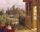 Magical Evening In Tuscany Print on Canvas by Lealand Beaman