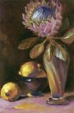 Protea Exotica Print on Canvas by Shari White