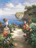 Tranquil Overlook Print on Canvas by James Reed