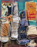 Happy Hour II Print on Canvas by  Fischer & Warnica