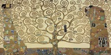 The Tree of Life Print on Canvas by Gustav Klimt