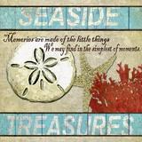 Seaside Treasures Print on Canvas by Karen J. Williams