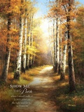 Birch Walk with Verse Print on Canvas by  Arcobaleno