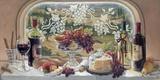 Harvest Celebration Print on Canvas by Janet Kruskamp