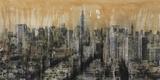 NYC6 (detail) Print on Canvas by Dario Moschetta