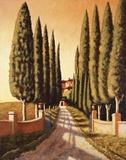Tuscan Retreat Print on Canvas by Santo De Vita