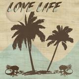 Love Life Print on Canvas by Karen J. Williams
