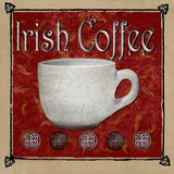 Irish Coffee Print on Canvas by Karen J. Williams