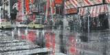 Times Square 2 Print on Canvas by Dario Moschetta