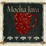 Mocha Java Print on Canvas by Karen J. Williams