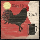 Wake Up Call Print on Canvas by Karen J. Williams