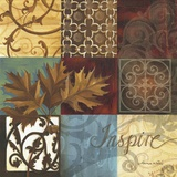 Inspire Print on Canvas by Maria Woods