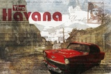 Cuban Street I Print on Canvas by Kay Daichi