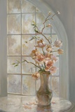 Magnolia Arch II Print on Canvas by Ruth Baderian