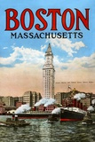 Boston Massachusetts Print on Canvas