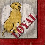 Labrador Retriever Print on Canvas by Karen J. Williams