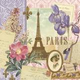 Springtime in Paris I Print on Canvas