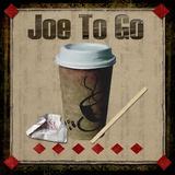 Joe To Go Print on Canvas by Karen J. Williams